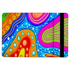 Hand Painted Digital Doodle Abstract Pattern Ipad Air Flip by Simbadda