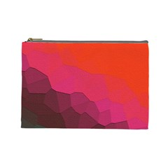 Abstract Elegant Background Pattern Cosmetic Bag (large)  by Simbadda