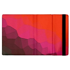 Abstract Elegant Background Pattern Apple Ipad 2 Flip Case by Simbadda