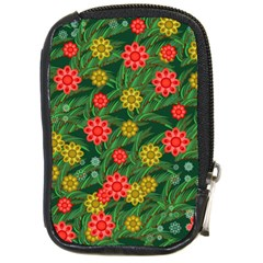 Completely Seamless Tile With Flower Compact Camera Cases by Simbadda