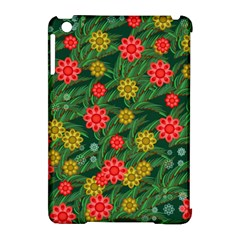 Completely Seamless Tile With Flower Apple Ipad Mini Hardshell Case (compatible With Smart Cover) by Simbadda