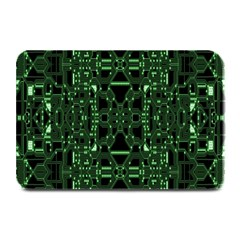 An Overly Large Geometric Representation Of A Circuit Board Plate Mats by Simbadda