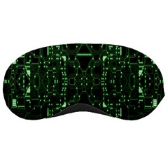 An Overly Large Geometric Representation Of A Circuit Board Sleeping Masks by Simbadda