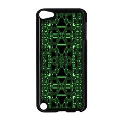 An Overly Large Geometric Representation Of A Circuit Board Apple Ipod Touch 5 Case (black) by Simbadda