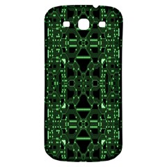 An Overly Large Geometric Representation Of A Circuit Board Samsung Galaxy S3 S Iii Classic Hardshell Back Case by Simbadda