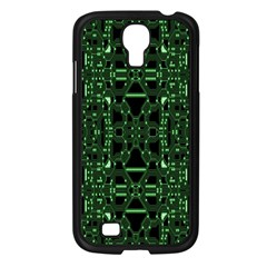 An Overly Large Geometric Representation Of A Circuit Board Samsung Galaxy S4 I9500/ I9505 Case (black) by Simbadda