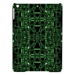 An Overly Large Geometric Representation Of A Circuit Board Ipad Air Hardshell Cases by Simbadda