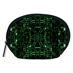 An Overly Large Geometric Representation Of A Circuit Board Accessory Pouches (medium)  by Simbadda
