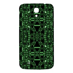An Overly Large Geometric Representation Of A Circuit Board Samsung Galaxy Mega I9200 Hardshell Back Case by Simbadda