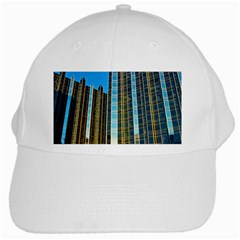Two Abstract Architectural Patterns White Cap by Simbadda