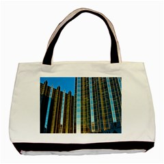 Two Abstract Architectural Patterns Basic Tote Bag (two Sides)