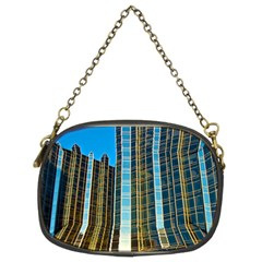 Two Abstract Architectural Patterns Chain Purses (two Sides)  by Simbadda