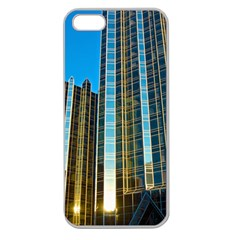 Two Abstract Architectural Patterns Apple Seamless Iphone 5 Case (clear) by Simbadda