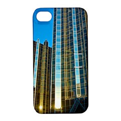 Two Abstract Architectural Patterns Apple Iphone 4/4s Hardshell Case With Stand by Simbadda