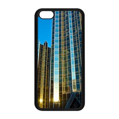 Two Abstract Architectural Patterns Apple Iphone 5c Seamless Case (black) by Simbadda