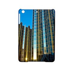 Two Abstract Architectural Patterns Ipad Mini 2 Hardshell Cases by Simbadda