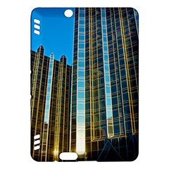 Two Abstract Architectural Patterns Kindle Fire Hdx Hardshell Case by Simbadda
