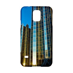 Two Abstract Architectural Patterns Samsung Galaxy S5 Hardshell Case  by Simbadda
