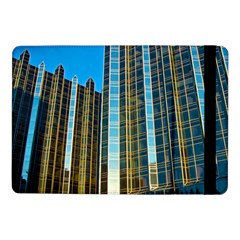 Two Abstract Architectural Patterns Samsung Galaxy Tab Pro 10 1  Flip Case by Simbadda