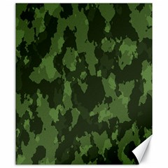 Camouflage Green Army Texture Canvas 20  X 24   by Simbadda
