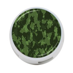 Camouflage Green Army Texture 4 Port Usb Hub (two Sides)  by Simbadda