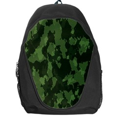 Camouflage Green Army Texture Backpack Bag by Simbadda