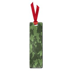 Camouflage Green Army Texture Small Book Marks by Simbadda