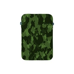 Camouflage Green Army Texture Apple Ipad Mini Protective Soft Cases by Simbadda