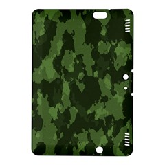 Camouflage Green Army Texture Kindle Fire Hdx 8 9  Hardshell Case by Simbadda