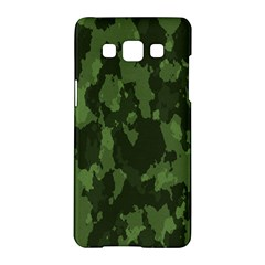 Camouflage Green Army Texture Samsung Galaxy A5 Hardshell Case