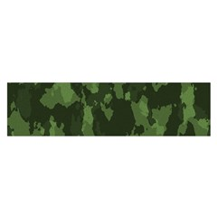 Camouflage Green Army Texture Satin Scarf (oblong) by Simbadda