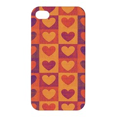 Pattern Apple Iphone 4/4s Premium Hardshell Case by Valentinaart