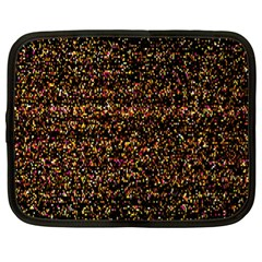 Pixel Pattern Colorful And Glowing Pixelated Netbook Case (xl)  by Simbadda