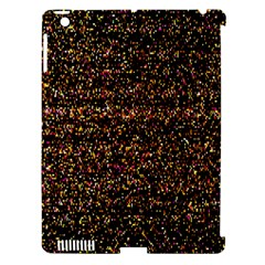 Pixel Pattern Colorful And Glowing Pixelated Apple Ipad 3/4 Hardshell Case (compatible With Smart Cover) by Simbadda