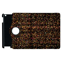 Pixel Pattern Colorful And Glowing Pixelated Apple Ipad 3/4 Flip 360 Case by Simbadda