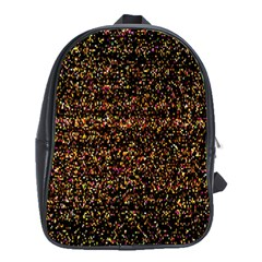 Pixel Pattern Colorful And Glowing Pixelated School Bags (xl)  by Simbadda