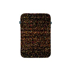 Pixel Pattern Colorful And Glowing Pixelated Apple Ipad Mini Protective Soft Cases by Simbadda