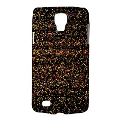 Pixel Pattern Colorful And Glowing Pixelated Galaxy S4 Active by Simbadda