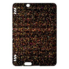 Pixel Pattern Colorful And Glowing Pixelated Kindle Fire Hdx Hardshell Case by Simbadda