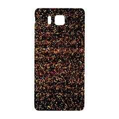 Pixel Pattern Colorful And Glowing Pixelated Samsung Galaxy Alpha Hardshell Back Case