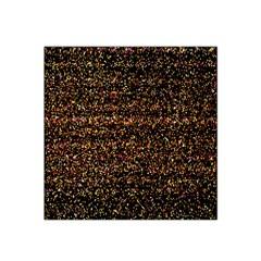 Pixel Pattern Colorful And Glowing Pixelated Satin Bandana Scarf by Simbadda