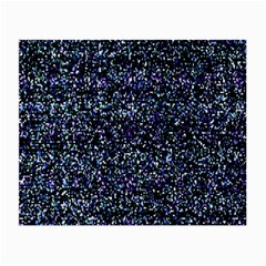 Pixel Colorful And Glowing Pixelated Pattern Small Glasses Cloth (2 Side) by Simbadda