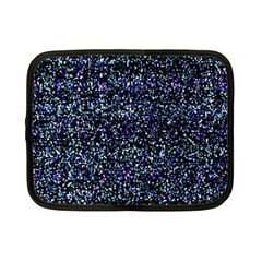 Pixel Colorful And Glowing Pixelated Pattern Netbook Case (small)  by Simbadda