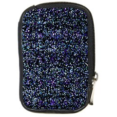 Pixel Colorful And Glowing Pixelated Pattern Compact Camera Cases by Simbadda