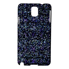 Pixel Colorful And Glowing Pixelated Pattern Samsung Galaxy Note 3 N9005 Hardshell Case by Simbadda