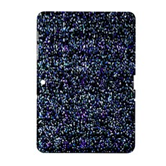 Pixel Colorful And Glowing Pixelated Pattern Samsung Galaxy Tab 2 (10 1 ) P5100 Hardshell Case  by Simbadda