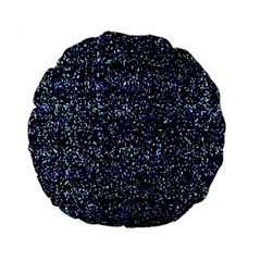 Pixel Colorful And Glowing Pixelated Pattern Standard 15  Premium Flano Round Cushions by Simbadda