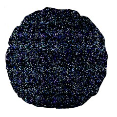 Pixel Colorful And Glowing Pixelated Pattern Large 18  Premium Flano Round Cushions by Simbadda