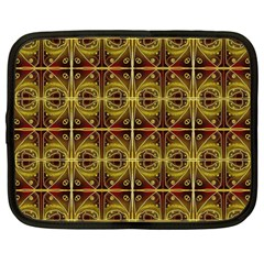 Seamless Symmetry Pattern Netbook Case (large) by Simbadda