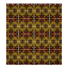 Seamless Symmetry Pattern Shower Curtain 66  X 72  (large)  by Simbadda